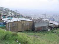 Desalojan varias familias  en zona rural de Soacha