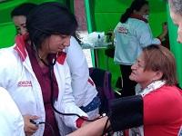La E.S.E. Municipal participó en el aniversario de   Cuadrantes Saludables
