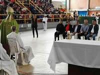 Con 'Almuerzatón', Alcaldía Municipal celebra  Primera Jornada Mundial de los Pobres