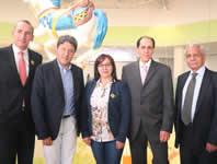 Alcaldía acompaña inauguración del centro comercial Ventura
