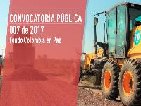 Gobierno Nacional abre convocatoria para construir obras priorizadas por la comunidad