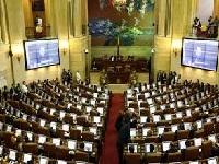 Se hundieron las curules para las víctimas en el Congreso