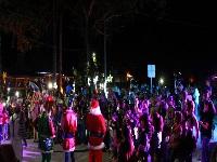 La Quipileña tiene luces de Navidad por primera vez