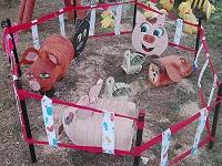En Soacha hay ejemplo de reciclaje y arte  en un pesebre