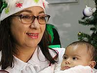 Gestora social de Soacha celebró la Navidad con los niños hospitalizados