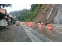Continúa cerrada vía Bogotá- Girardot por deslizamientos