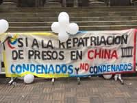 El gobierno colombiano firmará convenio de repatriación de presos con China