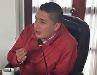Concejal Giovanni Ramírez apoyará candidatura de Betty Zorro