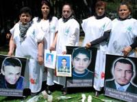Se cumplen diez años  de lucha de las 'Madres de Soacha'