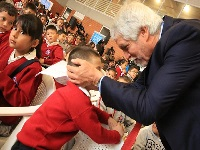 Con la entrega de una nueva sede de colegio en Suba, Peñalosa da la bienvenida a clases a los estudiantes de Bogotá