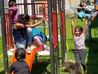 Departamento entregó dos parques nuevos a Soacha