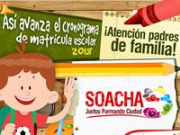 Publican primer listado de estudiantes asignados a colegios privados de Soacha