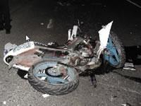 Camioneta atropella a 16 motocicletas en Soacha