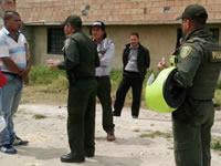 Desalojan y detienen a personas que pretendían vender terrenos en humedal de Soacha