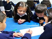 Niños de Soacha mejoraron rendimiento en matemáticas a través de modelo de Singapur y Chile
