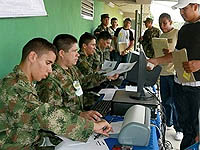 Ejército realiza jornada especial para remisos