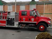 Sin agua llegan los bomberos de Soacha a apagar incendios