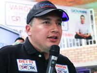 Concejal Giovanni Ramírez reitera su apoyo a Germán Varón Cotrino y Betty Zorro