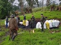 Operativo contra quemas ilegales en Zipacón deja 15 detenidos