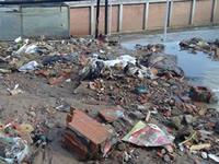 Emergencia en colegio de Soacha por desbordamiento de caño
