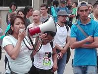 Estudiantes de  la UDEC bloquean vía 3 M en Soacha
