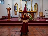 Con los niños nazarenos inician celebraciones de Semana Santa en Zipaquirá