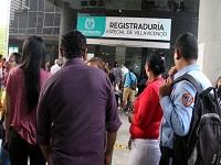 Por elecciones presidenciales aumenta número de cédulas inscritas para votar