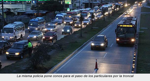 Según Peñalosa, el uso de carril de Transmilenio Soacha  en operaciones retorno es ilegal