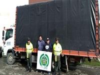 En Facatativá incautan camión que transportaba  sustancias químicas  para cocaína