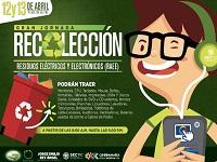 Jornada de reciclaje electrónico en la Gobernación de Cundinamarca