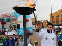 Soacha  encendió la  llama de los intercolegiados Supérate 2018
