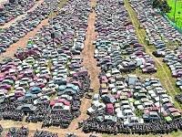 En Bogotá inicia subasta de vehículos que están en los patios