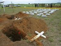 Abren investigación por hallazgo de dos cuerpos en finca de Silvania