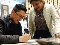 Escritor soachuno presente en la Feria del Libro