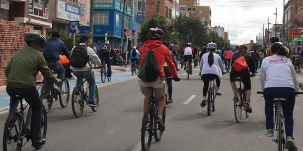 Bogotá vive la XII versión de la Semana de la Bicicleta