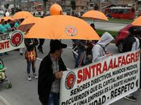 En Soacha, Intersindical del sur conmemoró  el día internacional del trabajo