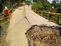 Ordenan cierre del puente entre Arbeláez y San Bernardo