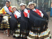Bailarines de Soacha celebran el día internacional de la danza