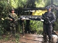 Destruyen laboratorio de cocaína en Sibaté
