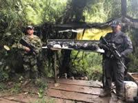 En Sibaté destruyen laboratorio dedicado a la producción de cocaína