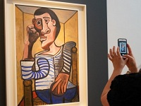 Antes de ser subastado se dañó cuadro de Pablo Picasso