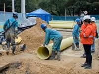 Cortes del servicio de  agua potable  en Soacha y Bogotá