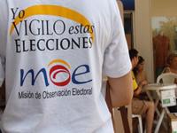 Más de 3000 observadores tendrá la MOE  en estas elecciones