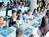 Cambian los menús de los colegios oficiales de Bogotá