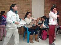 Curso de maternidad y paternidad en la ESE de Soacha