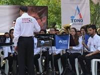 Vaca por la banda sinfónica de Soacha