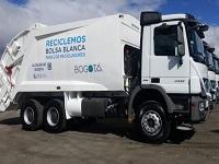 El 12 de agosto Bogotá tendrá nueva flota de camiones de aseo