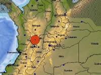Sismo sacudió a Bogotá y al centro del país