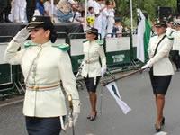Cierres viales en Bogotá por desfile del 20 de Julio