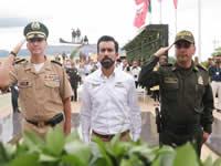 Cundinamarca rindió  homenaje a sus 205 años de independencia